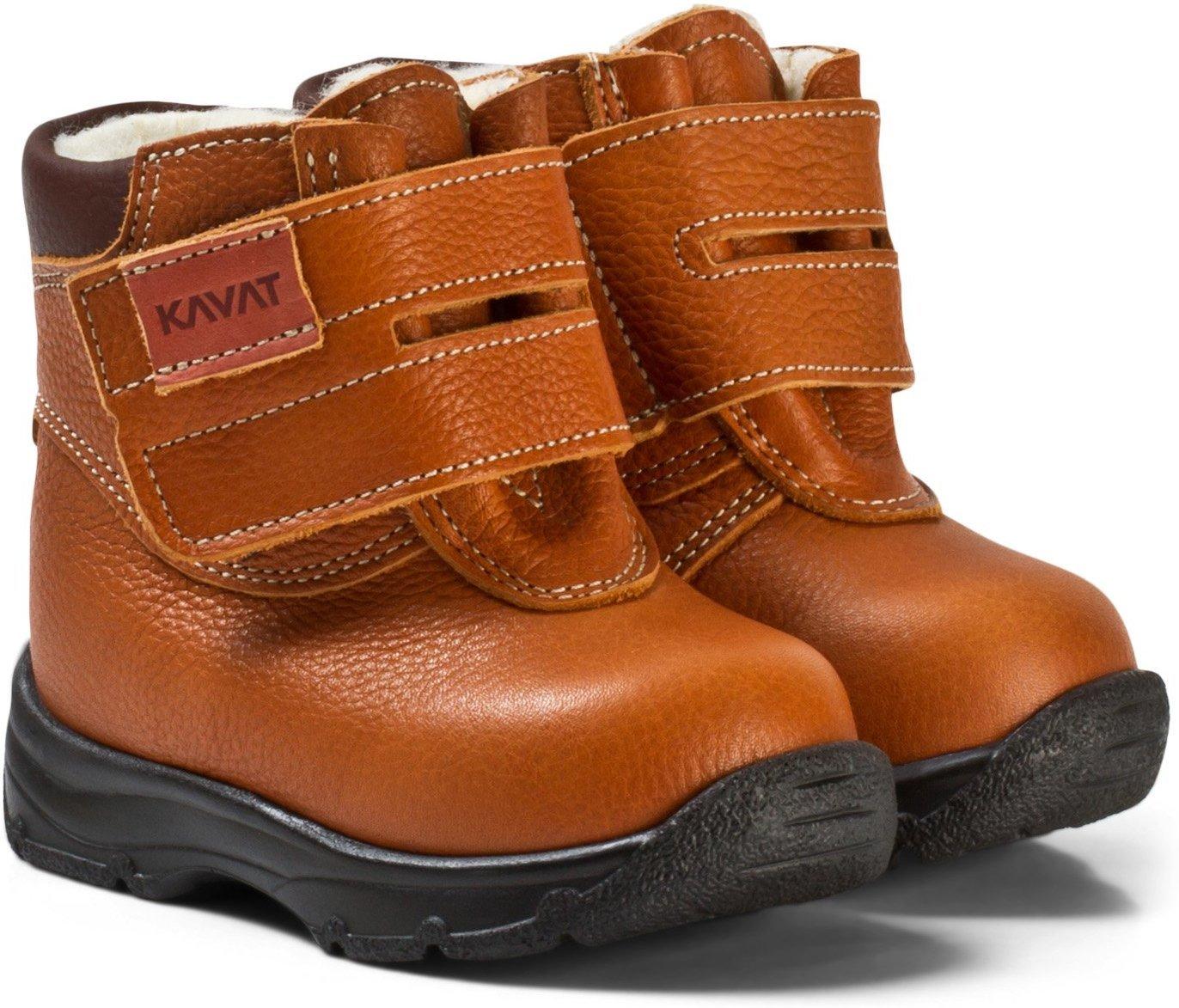 kavat sko barn brun