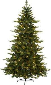 Larvik juletre med LED lys 180cm grønn
