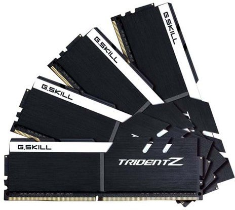 G.Skill TridentZ DDR4 3200MHz 64GB CL16 (4x16GB)