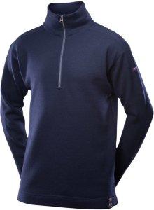 Blaatrøie Sweater Zip Neck (Herre)