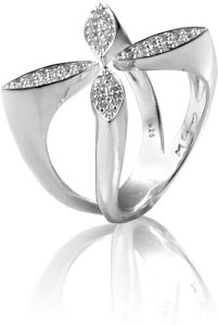 Carolina Gynning Sparkling Ellipse Ring