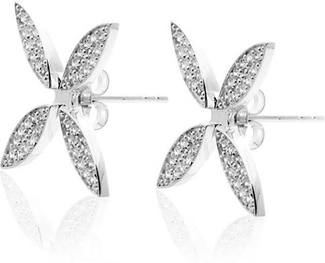 Carolina Gynning Sparkling Ellipse Earrings