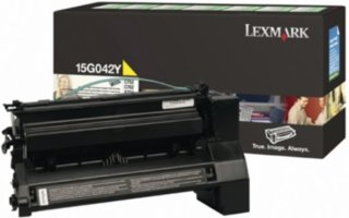 Lexmark C752, C760 Gul stor