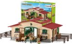 Schleich 42195 Farm World - Stable with horses