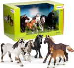 Schleich 72113 Farm World Horse Set