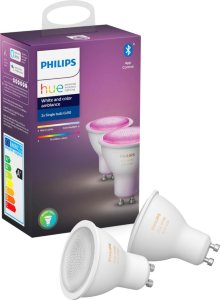 Philips Hue White And Color Ambiance GU10 BT (2 stk)