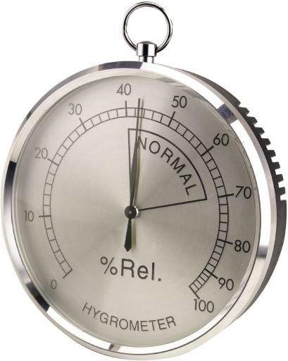 aanonsen Hygrometer aluminium 10cm