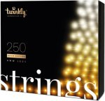 Twinkly Strings 250 Gold Edition AWW LEDs