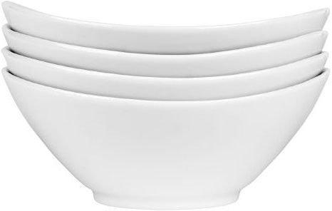Porsgrunds Porselænsfabrik Sense oval skål 18,5cm 4 stk