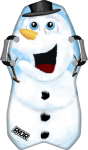 Rydr Snow Surf Snowman