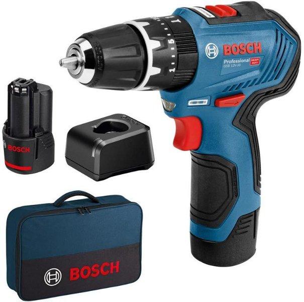 Bosch GSR 12V-30 (2x2,0Ah)