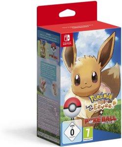 Pokemon Lets Go! Eeve + Pokeball Plus