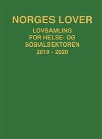 Norges lover: Lovsamling for helse- og sosialsektoren 2019-2020