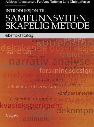 Abstrakt Introduksjon til samfunnsvitenskapelig metode