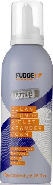 Fudge Clean Blonde Xpander Foam 200ml