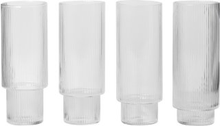 Ripple longdrinkglass 30cl 4 stk