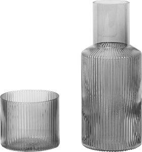 Ripple karaffel 0,5L med glass