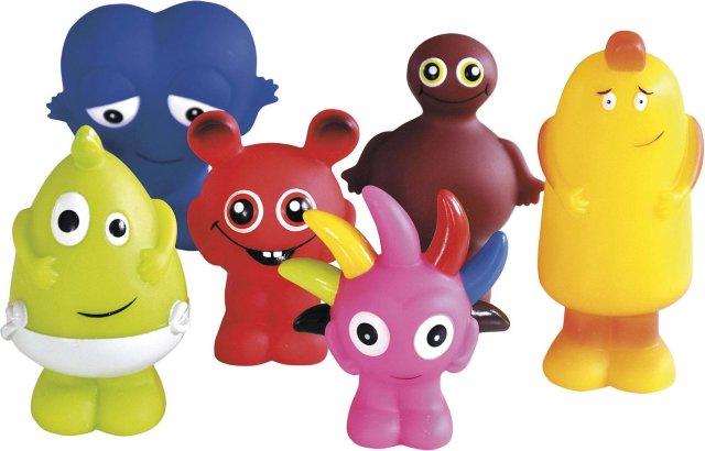 Babblarna Plastfigurer (6-pack)