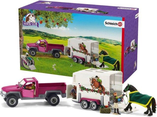 Schleich Pick Up Horse Box