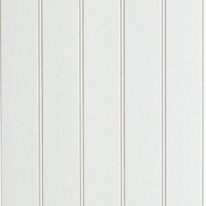 Veggplate Perle Klassisk Hvit 11x620x2390 (2 pk)