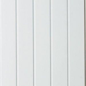Veggplate Skygge Hvit 11x620x2740 (2 pk)