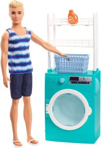 Barbie Ken og Vaskemaskin