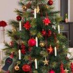 Konstsmide LED-juletrelys + fjernkontroll, ledningsløs