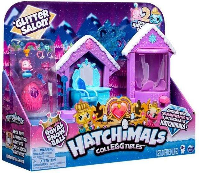 Hatchimals Colleggtibles Glitter Salon