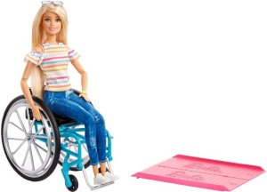 Barbie Wheelchair Accessory & Doll