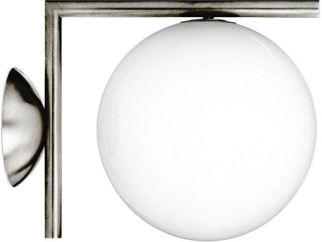 Flos IC C/W1 taklampe/vegglampe