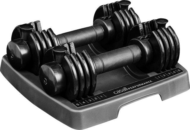 Casall PRF Adjustable Dumbbells 5kg