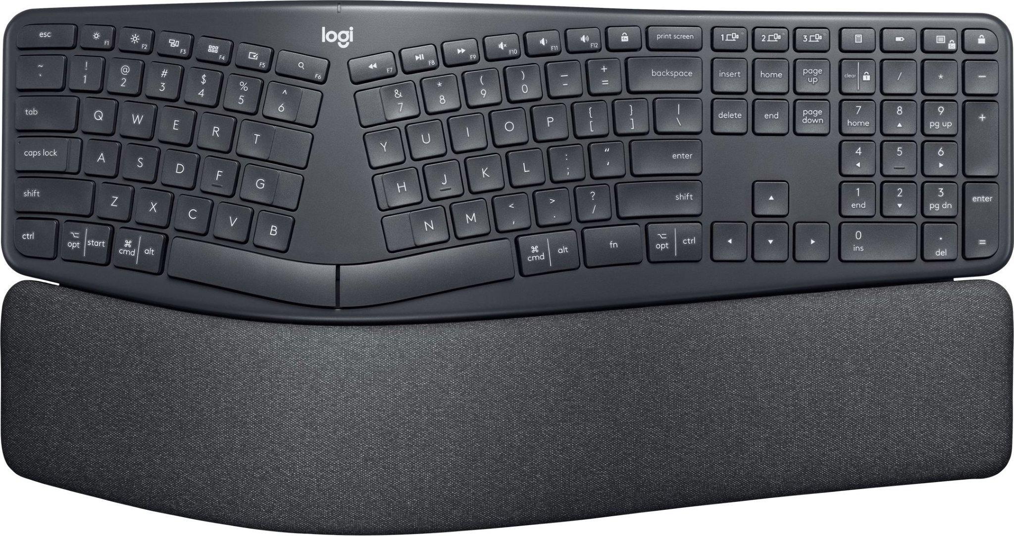Best pris på Logitech ERGO K860 Se priser før kjøp i