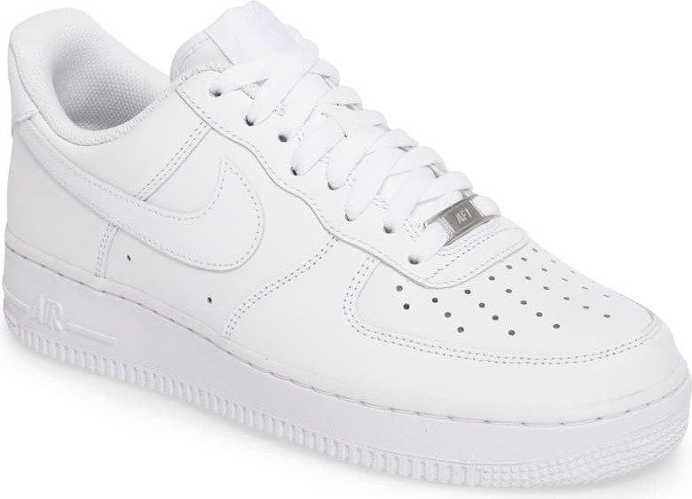 nike air force 1s hvit off white