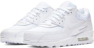 Menn Nike Air Max 90 Svart Gray Blå Sko
