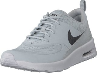 Nike Air Max Thea Sneakers In White And Black
