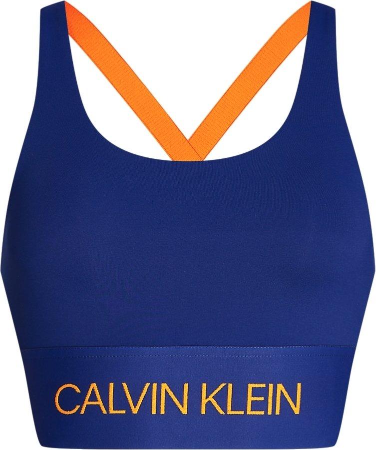 Calvin Klein Performance Medium Support Logo Band Bra