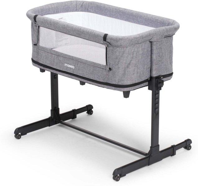 Moweo 2in1 Bedside Crib