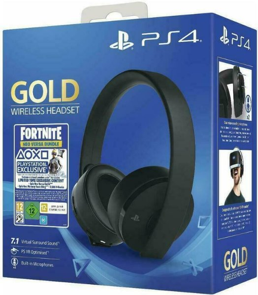 Sony PS4 Gold Wireless 7.1