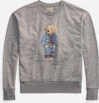 Ralph Lauren Polo Denim Bear Long Sleeve Sweater