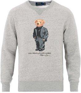 Ralph Lauren Printed Suit Bear Sweatshirt