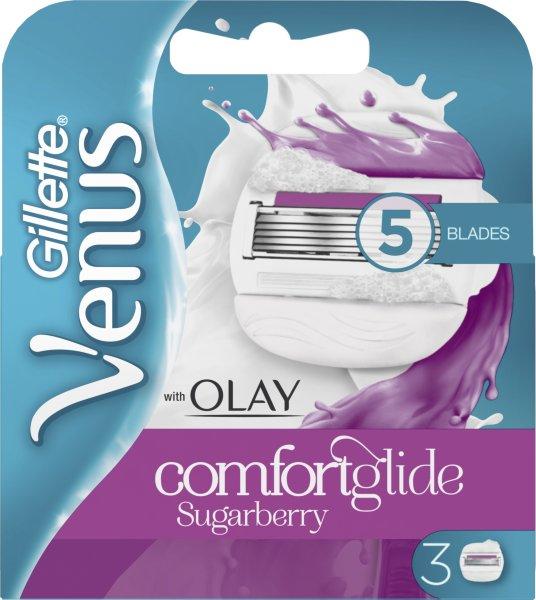 Gillette Venus & Olay Sugarberry 3 stk