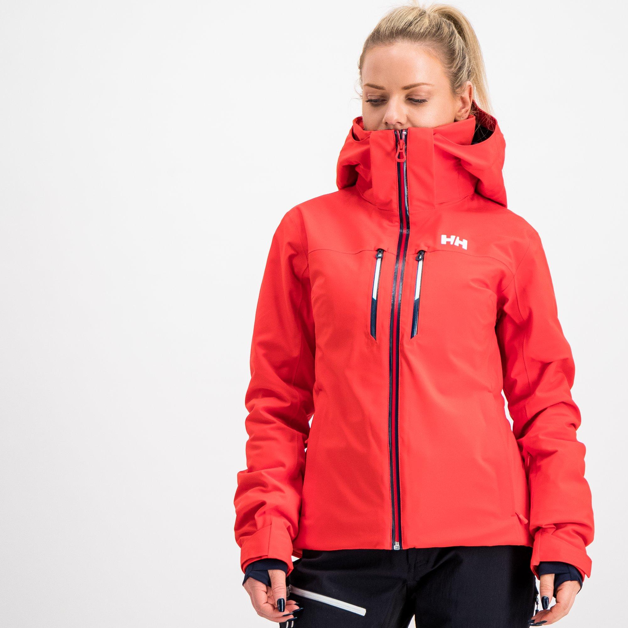 Helly Hansen Alphelia Lifaloft Jacket, skijakke dame Dark