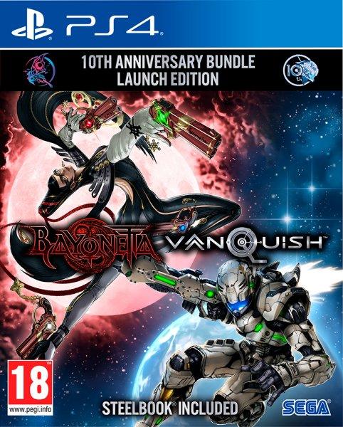 Platinum Games Bayonetta & Vanquish 10th Anniversary Bundle
