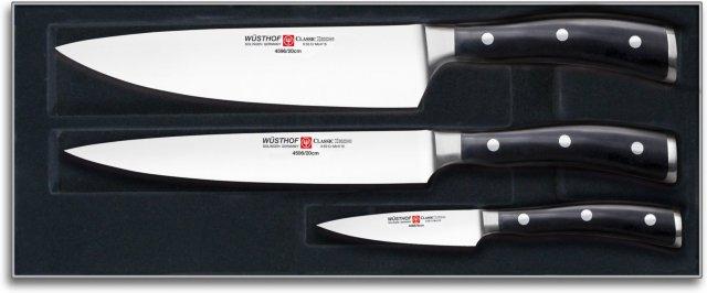 Wüsthof Classic Ikon knivsett 3 deler