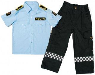 Torsi Politidrakt Skjorte og Bukse