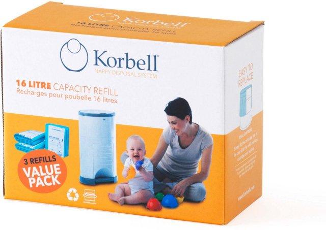 Korbell Refill (3 Pk)