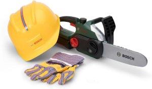 Klein Toys Bosch Motorsag m/hjelm & hansker