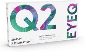 Cooper Vision EyeQ Q2 30-Day Astigmatism 3p
