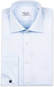 Fitted Body Double Cuff Shirt