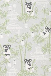 Majvillan Bambu tapet